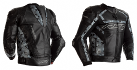 RST Tractech Evo R Black Camo Leather Jacket